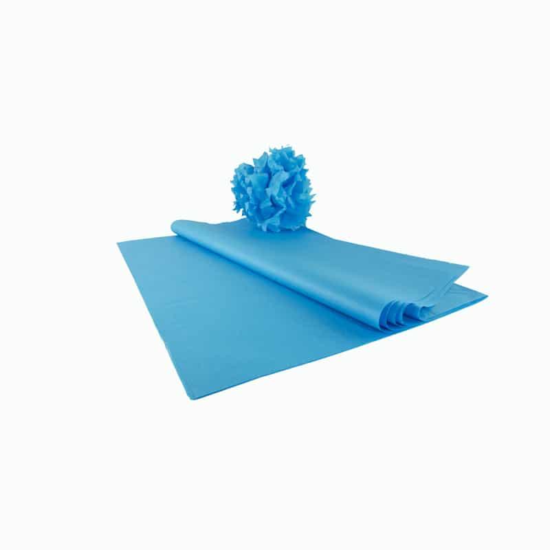feuille papier de soie qualit premium turquoise papier de soie. Black Bedroom Furniture Sets. Home Design Ideas