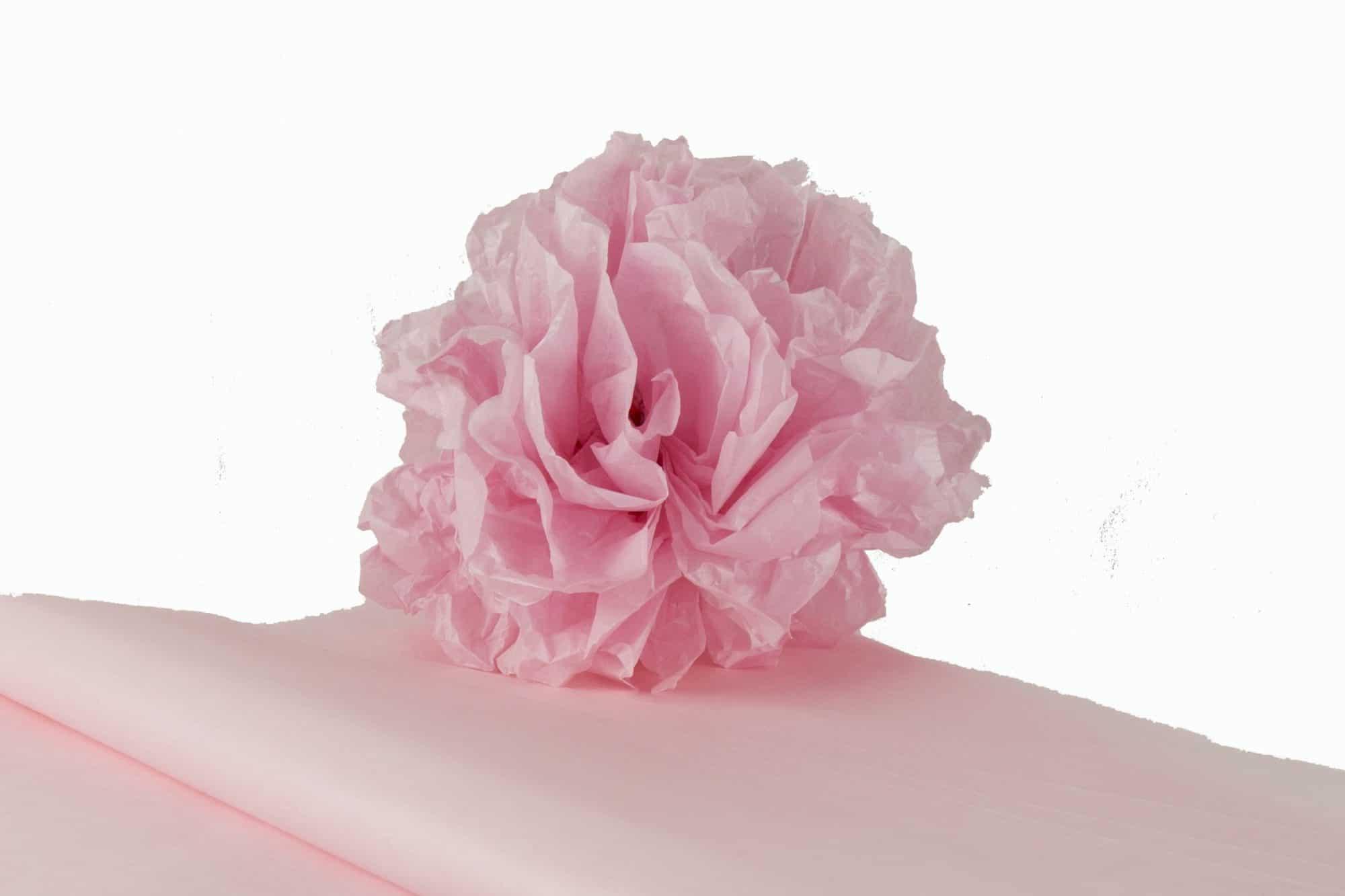 kit pompons en papier de soie qualit nacr rose papier de soie. Black Bedroom Furniture Sets. Home Design Ideas