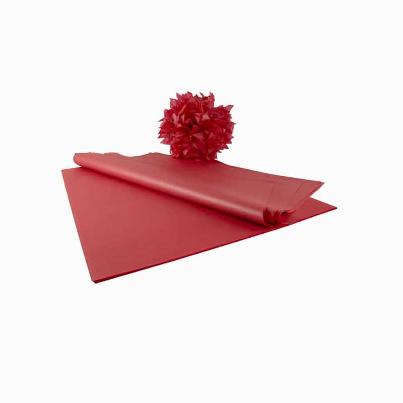 feuille papier de soie qualit nacr rouge papier de soie. Black Bedroom Furniture Sets. Home Design Ideas